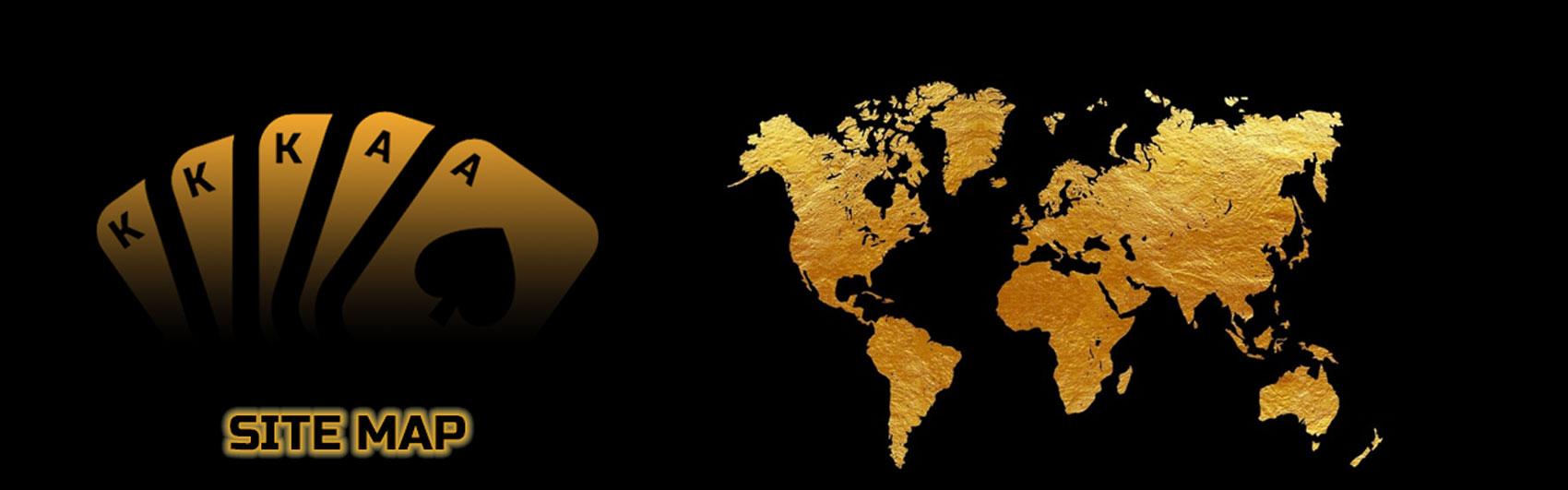 AceHigh Poker Site Map