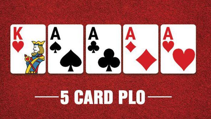 five card pot limit omaha poker