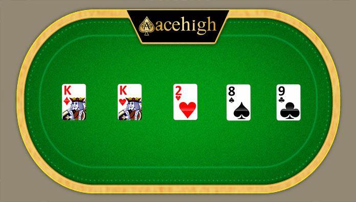one pair card