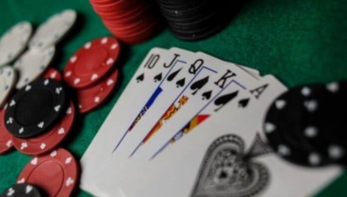 royal flush in poker