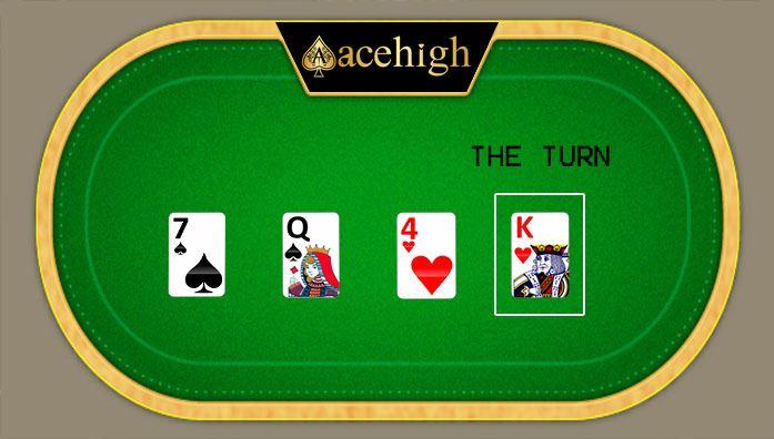 turn in poker game